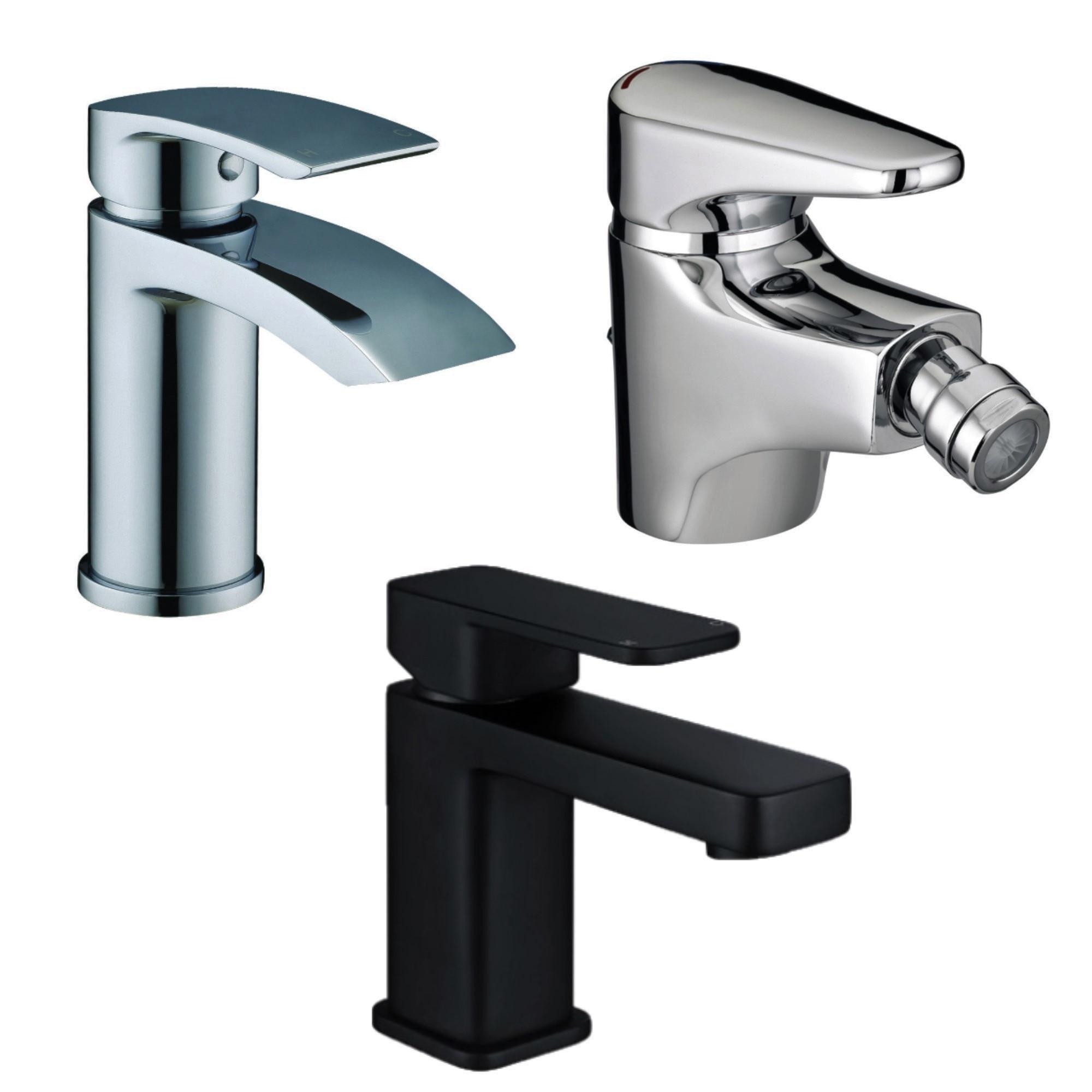 Featured Category Bathroom Taps Desktop/ Mobile