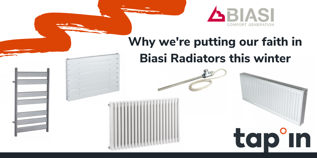 West Yorkshire plumbers merchant tap-in Supplies puts faith in Biasi Radiators this winter