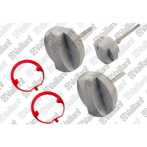 Vaillant Buttons Grey, Kit Of 3