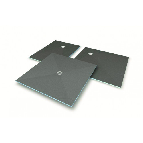 Wedi Fundo Primo 900mm x 900mm Wet Room Former - Centre Waste Outlet
