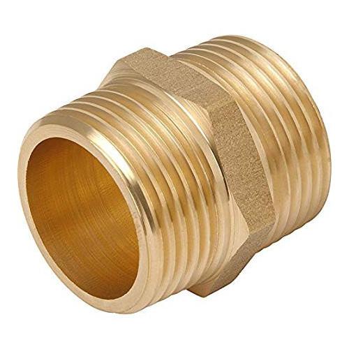 "Brass Barrel Nipple - ¾"""