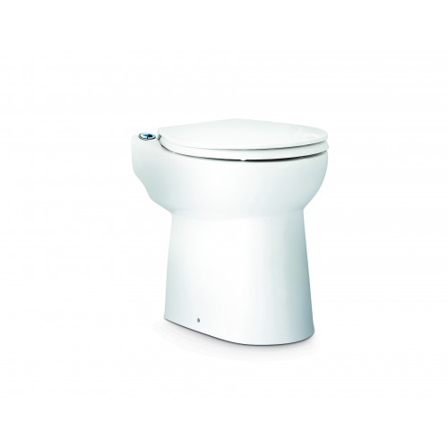 Saniflo Sanicompact Toilet Pan With Built In macerator & Basin Inlet