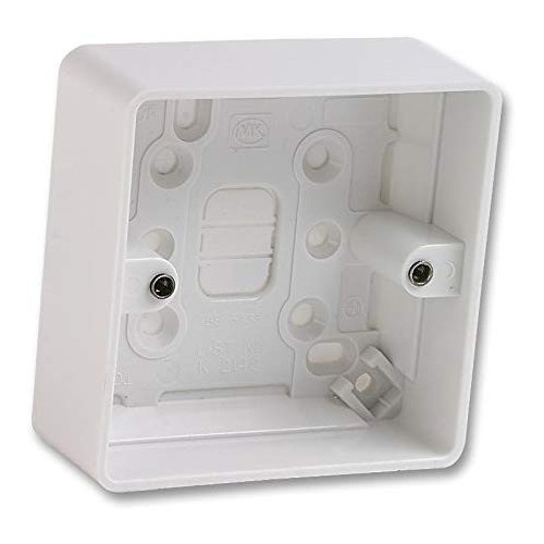 1 Gang Moulded Plastic Box -25mm