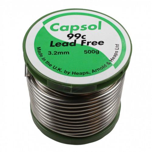 Capsol Solder Wire (Lead Free) - 500g