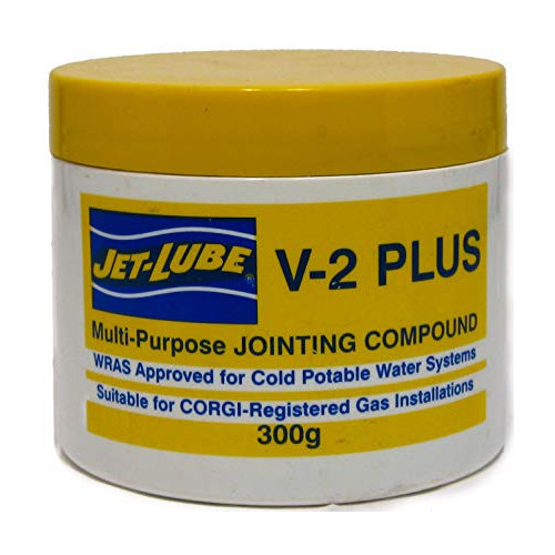 Jet Lube V-2 Plus Pipe Jointing Compound - 300g