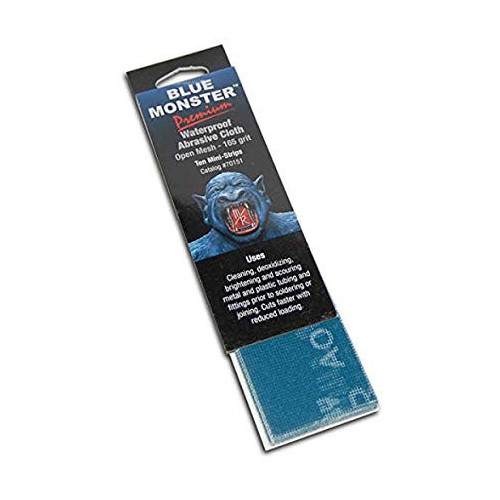 Mill-Rose Cleanfit Plumbers Abrasive Cloth Strips - 10