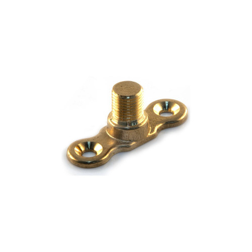 Brass Male Munsen Ring Backplate - 10mm