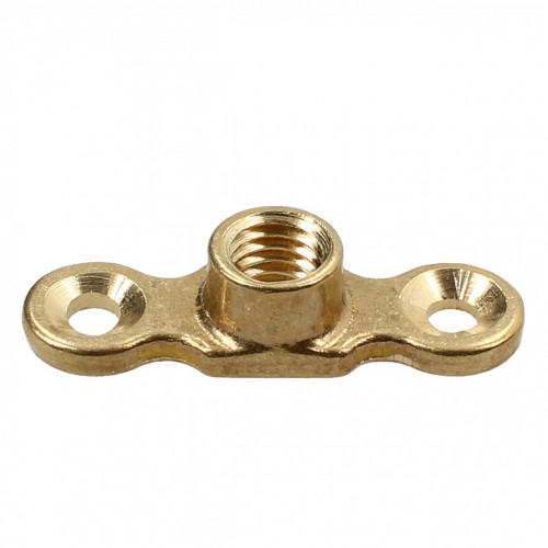 Brass Female Munsen Ring Backplate 10mm
