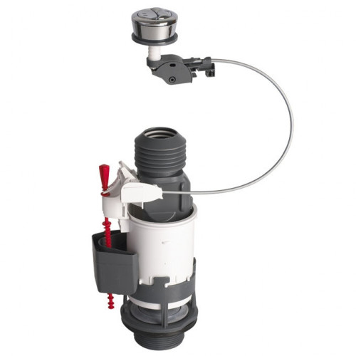 Wirquin Jollyflush Dual Flush Syphon + Push Button