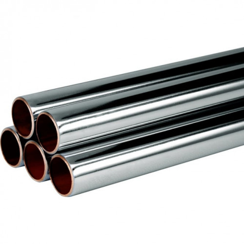 15mm Chrome Plated Pipe - 1m