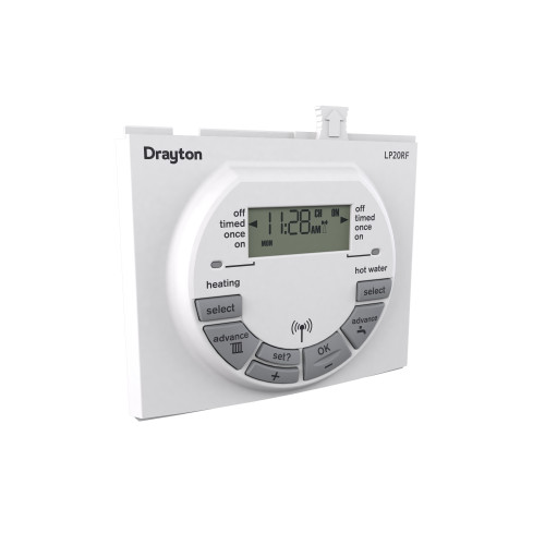 Drayton LP20 Clip-In Twin Channel Time Switch For Worcester Boilers