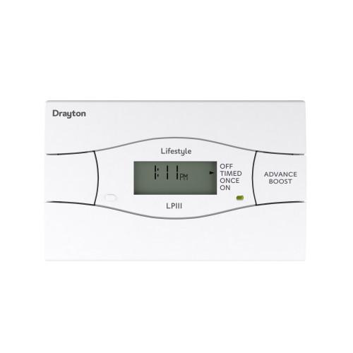 Drayton LP111 24 Hour Single Channel Digital Timeswitch