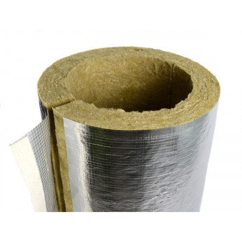 Rockwrap Pipe Insulation 17mm x 30mm - 1m