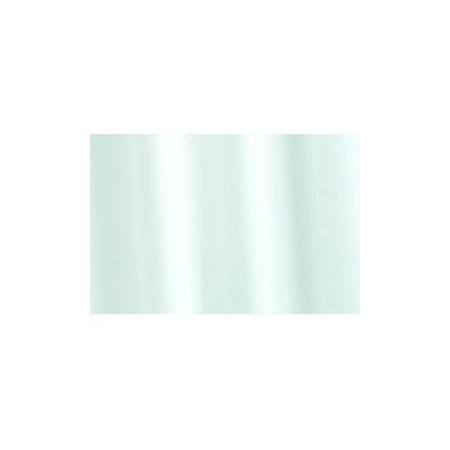 Aqua 1800mm x 1800mm White Plain Vinyl Shower Curtain