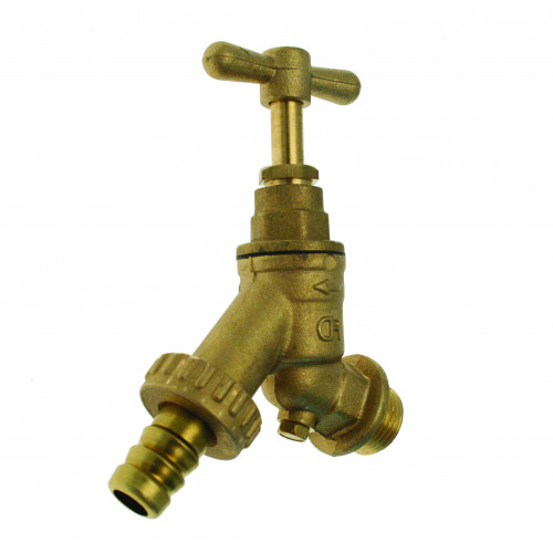 Outside Bib Tap With Non Return Valve - ¾""