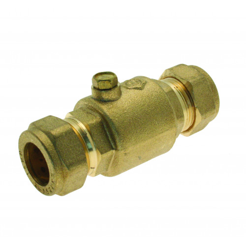 Single Non Return Valve - 15mm