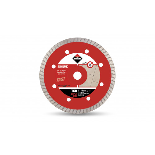 Rubi TCR 115mm Super Pro Porcelain Diamond Blade