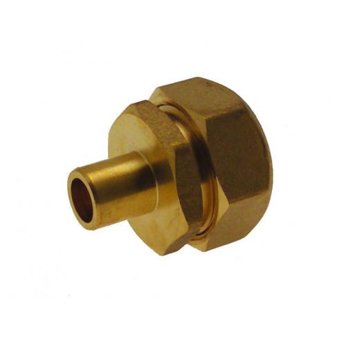 25mm Mdpe - 15mm Copper Adaptor