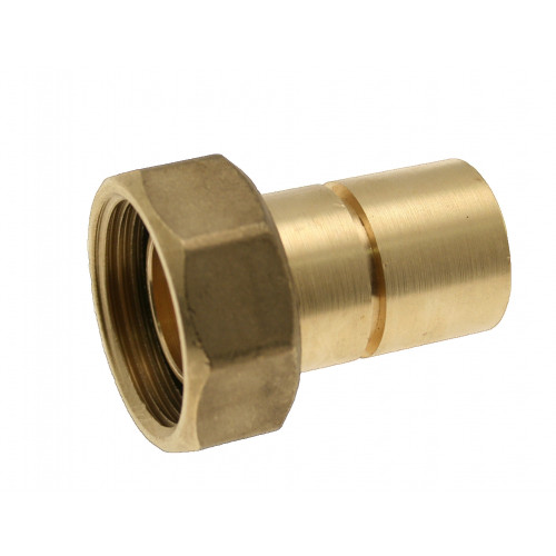 Grooved Gas Meter Union - 28mm