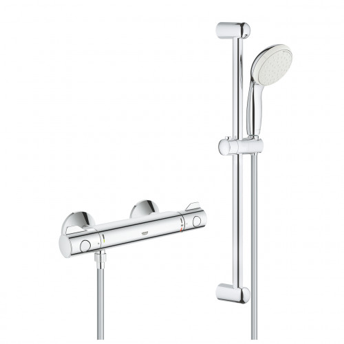 Grohe Grohtherm 800 Thermostatic Bar Shower + Shower Kit