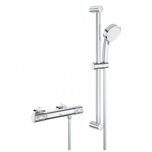 Grohe Grohtherm 1000 Performance Bar Shower + Shower Rail Kit