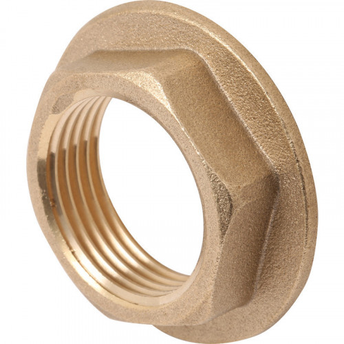 "Aqua 1¼"" Brass Basin Waste Nut"