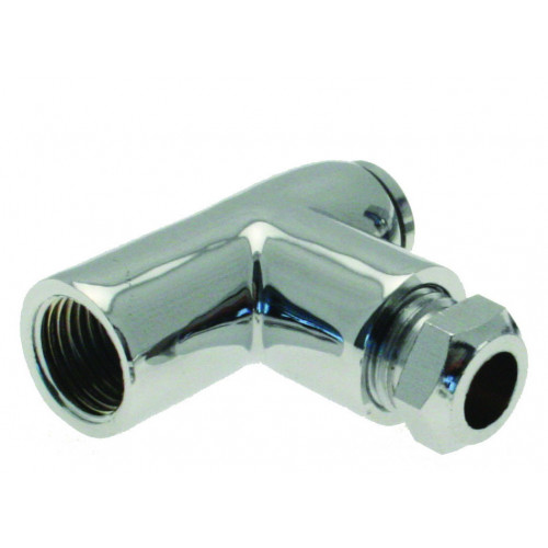 Gas Fire Restrictor Elbow 8mm x 1""