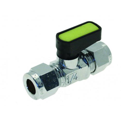 Mini Lever Gas Valve - 10mm