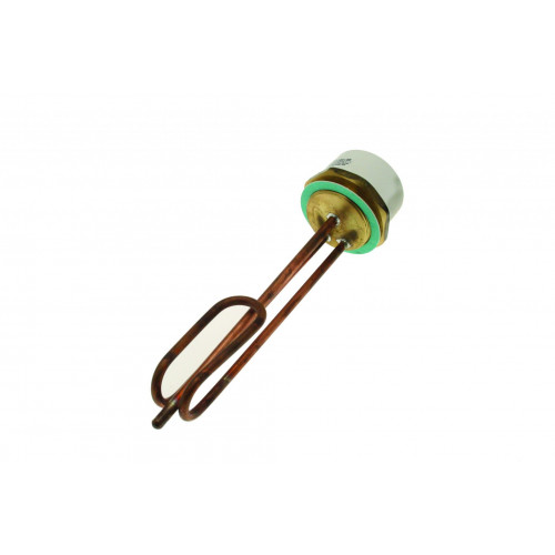 """11"""" Copper Immersion Heater + Thermostat"""