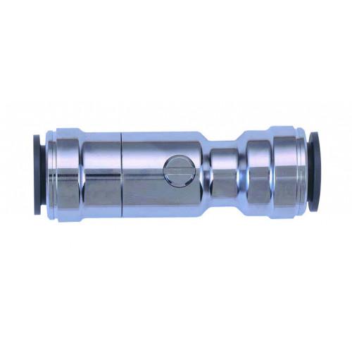 Speedfit Chrome Isolation Valve - 15mm