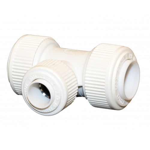 Whitespeed Reducing Tee - 22mm x 22mm x 15mm