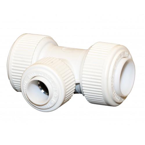Whitespeed Reducing Tee - 22mm x 22mm x 15mm