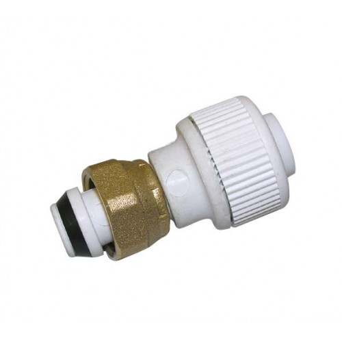 Whitespeed Straight Tap Connector - 15mm x ½""
