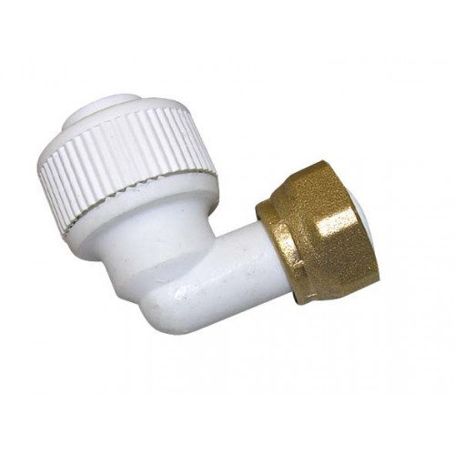 """Whitespeed Bent Tap Connector - 15mm x ½"""""""