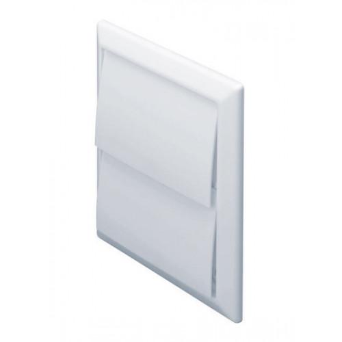Square Flap Vent (White) -100mm