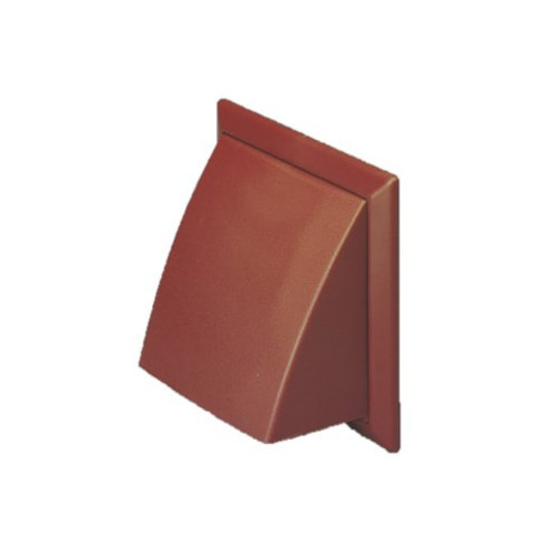 Cowled Vent (Brown) - 100mm