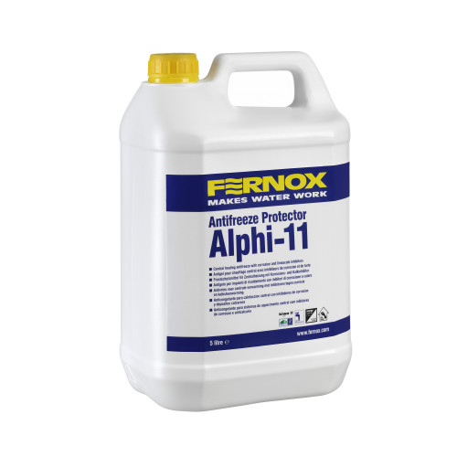 Fernox Alphi 11 Central Heating Protector With Anti-Freeze - 5l