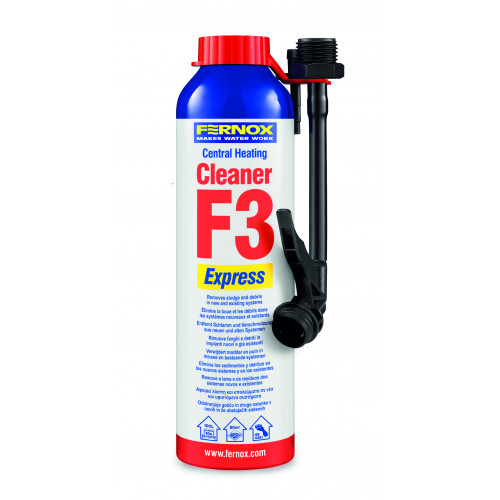 Fernox F3 Express Central Heating Cleaner - 280ml