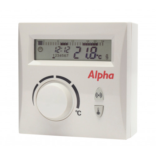 Alpha Easystat Digital Wireless Programmable Thermostat