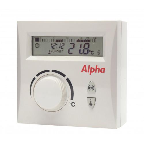 Alpha Easystat Digital Wireless Programmable Thermostat