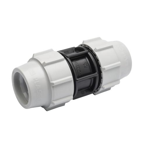 Plasson MDPE Straigh Coupling - 25mm
