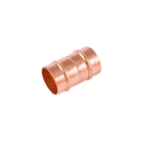 Solder Ring Straight Coupling - 15mm