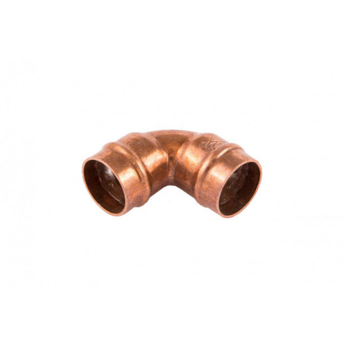 Solder Ring 90° Elbow - 22mm