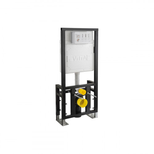 Vitra 1120mm High 120mm Deep Wall Hung WC Frame, Floor Mounted, Dual Flush (6/3Ltr)