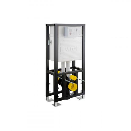 Vitra 1120mm High 120mm Deep Wall Hung WC Frame, Twin Cistern, Dual Flush (6/3Ltr)