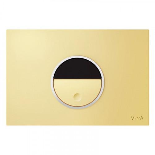 Vitra Pro Electronic Flush Plate - Gold