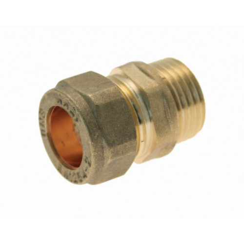 """Compression Male Coupling - 22mm x ¾"""""""