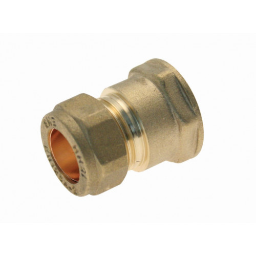 Compression Female Coupling - 15mm x ½""