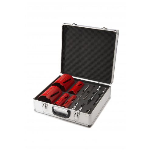 Rothenberger 12 Piece Dry Diamond Core Drill Set