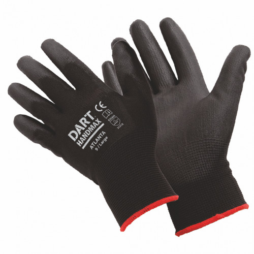 PU Coated Palm Gloves - Large